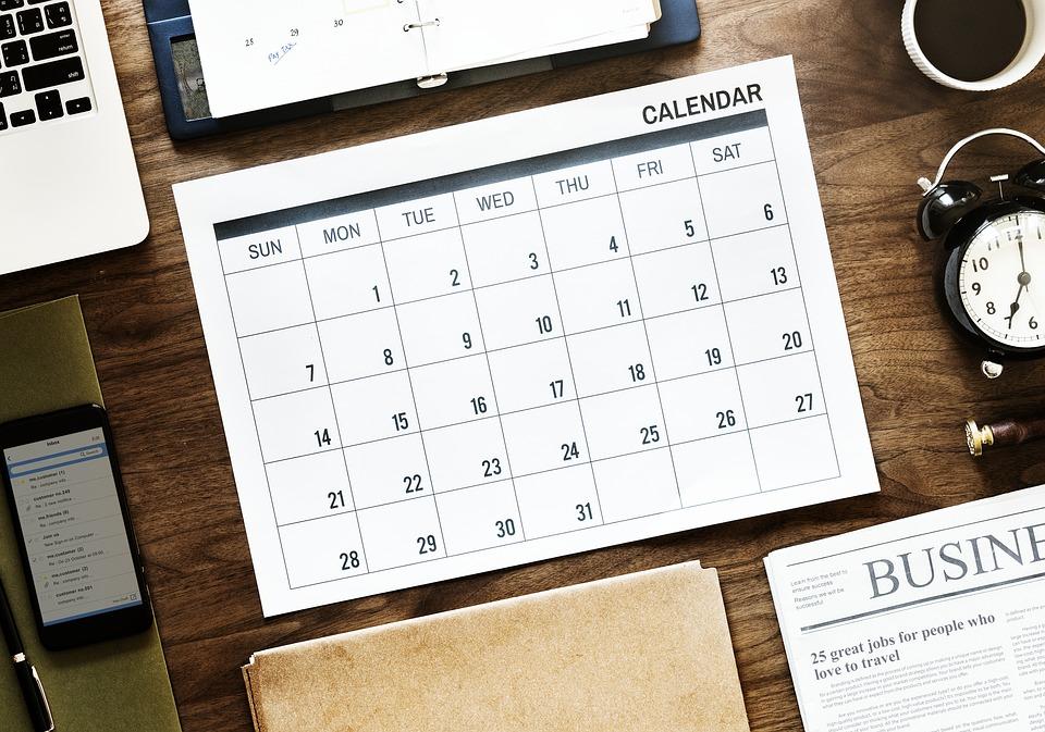 Calendarios y agendas completamente personalizables
