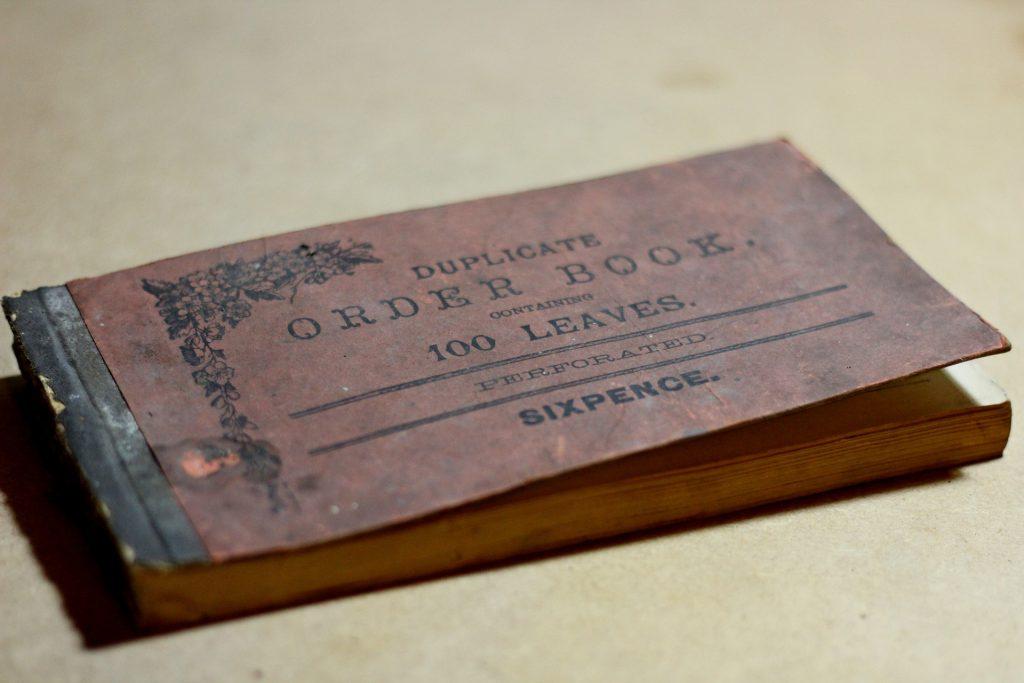 Libretas personalizadas antiguas