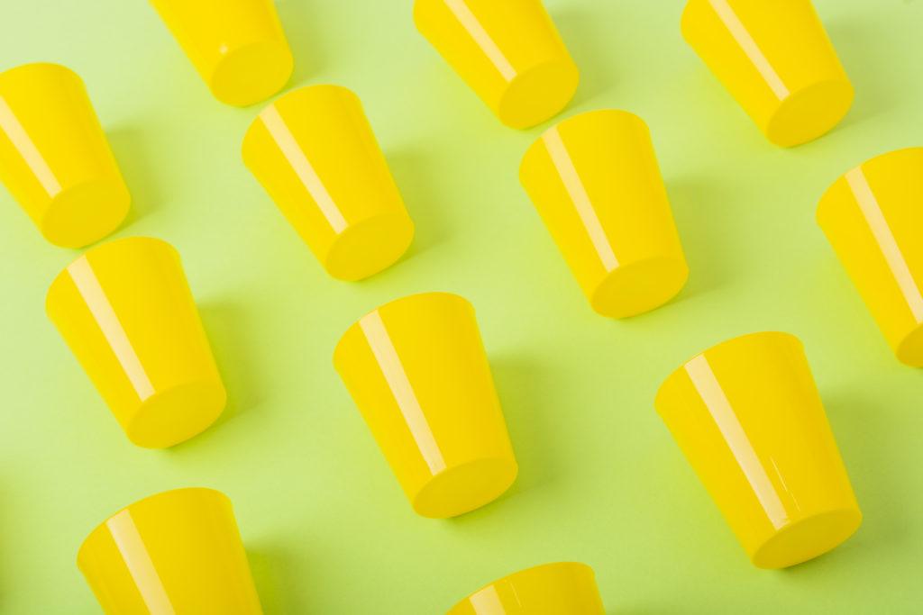 Vasos de plástico personalizados