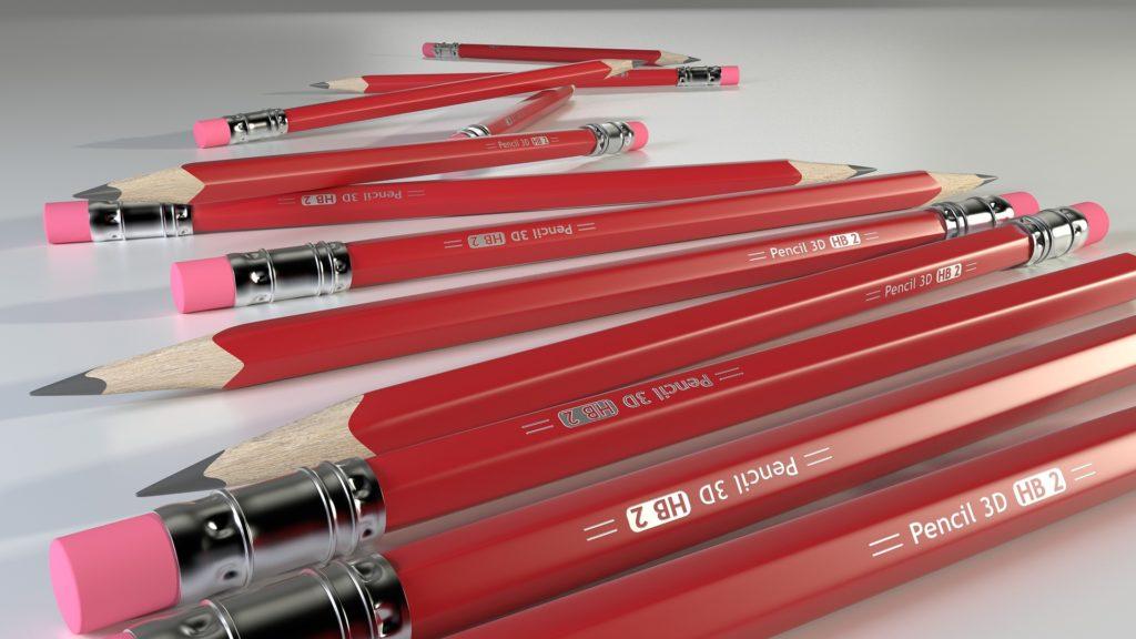 Lápices serigrafiados