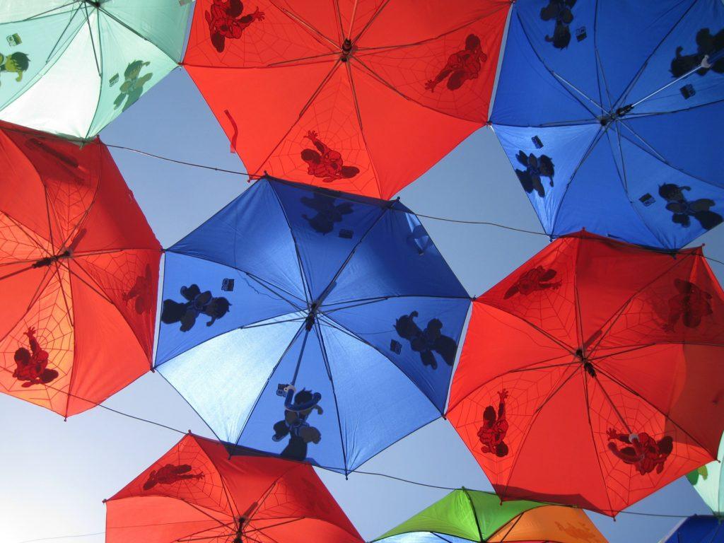 Personalizar paraguas
