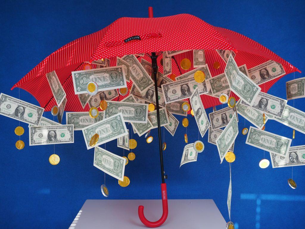 Paraguas baratos para merchandising