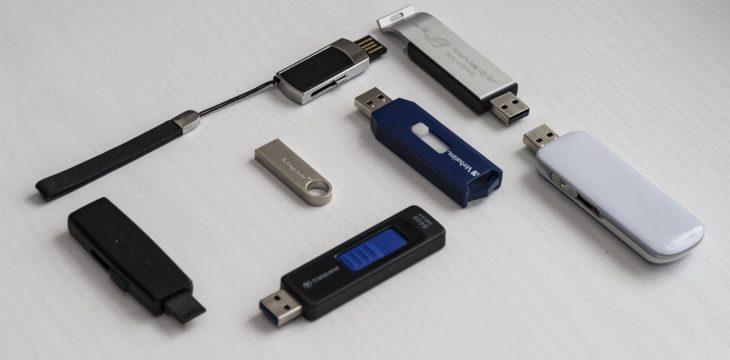 USB personalizados para cursos de formación