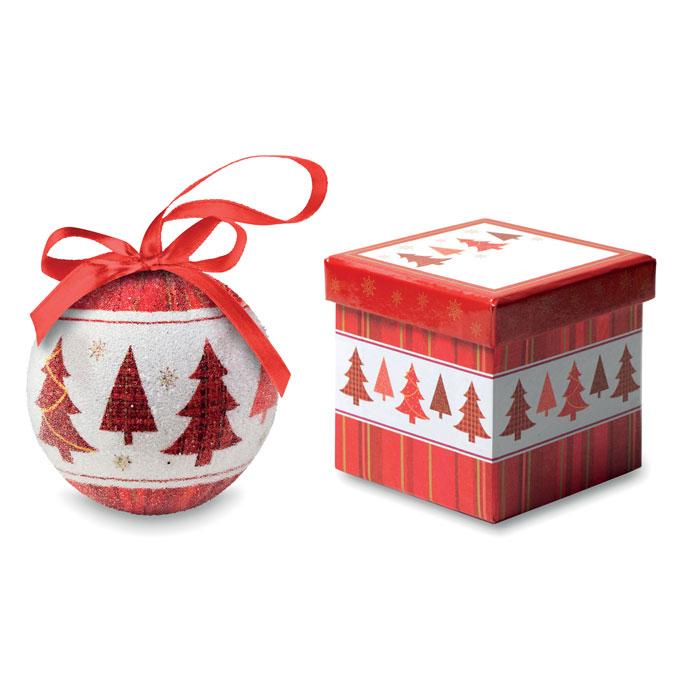Caja para adorno navideño para personalizarse