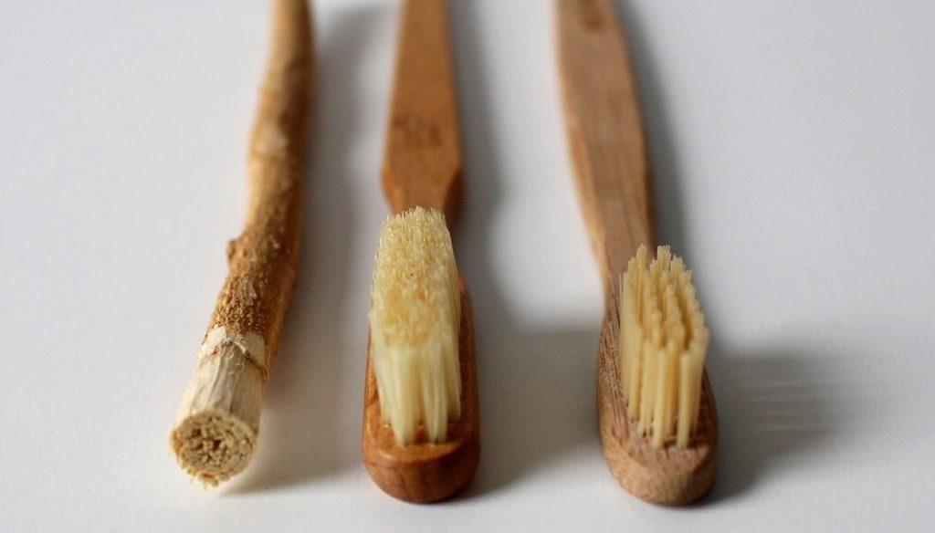 Cepillos de bambú para personalizarlos