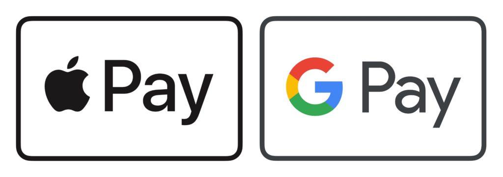 Añadimos Google Pay y Apple Pay como métodos de pago