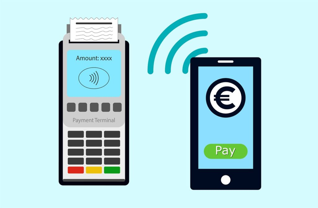 Sistema NFC para pagos contact less.