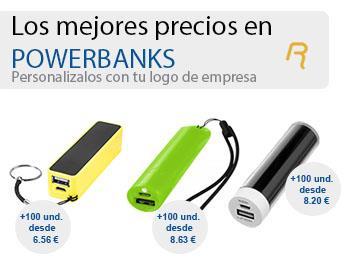 powerbanks personalizadas